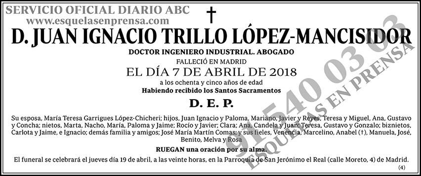 Juan Ignacio Trillo López-Mancisidor